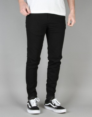 Cheap Monday Him Super Skinny Spray Jeans - Black