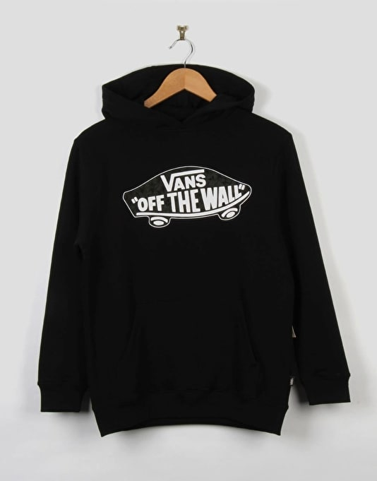 Vans OTW Boys Pullover Hoodie - Black/Anchorage Castaway