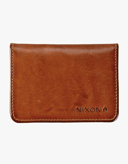 Nixon x Andrew Reynolds Leather Wallet - Brown