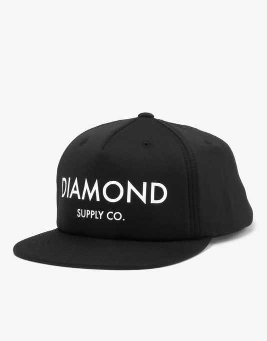 Diamond Supply Co. Classic Snapback Cap - Black