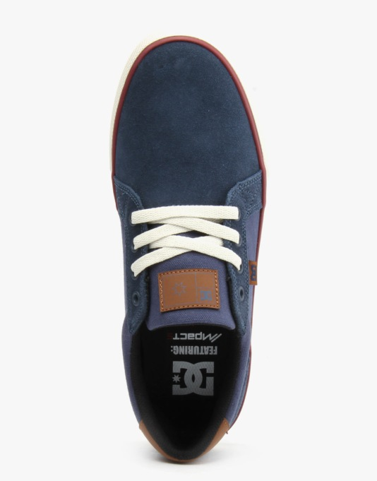 DC Council S Skate Shoes - Dark Blue