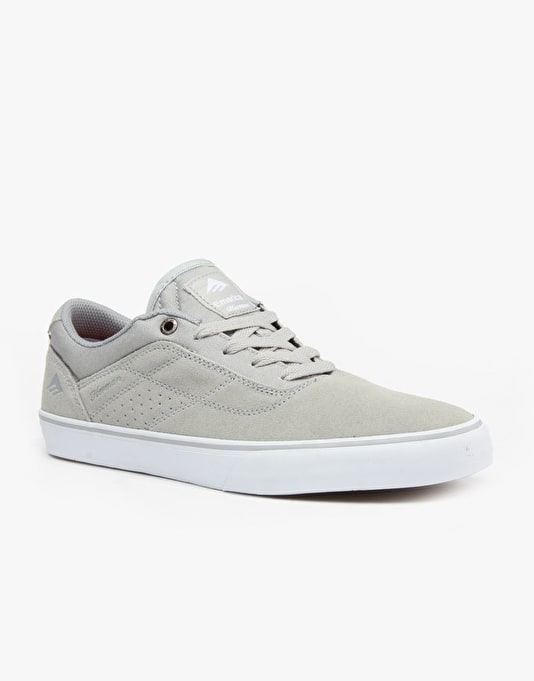 Emerica The Herman G6 Vulc Skate Shoes - Light Grey