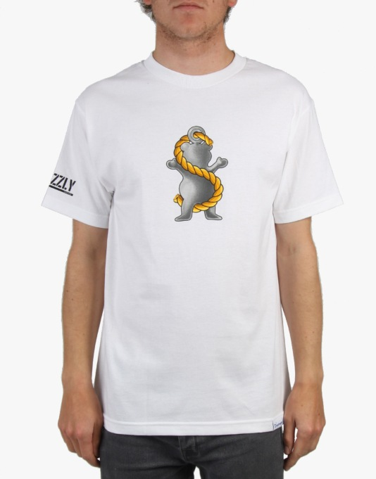 Grizzly Ryan Sheckler Pro Grip T-Shirt - White