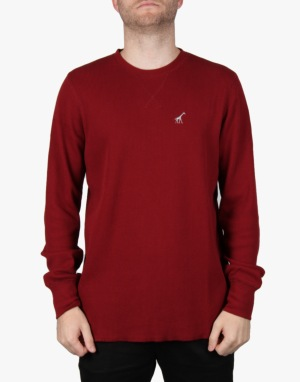 LRG Research Collection Solid Thermal T-Shirt - Maroon