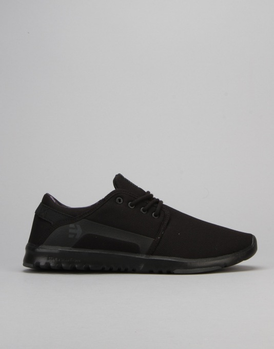 Etnies Scout Shoes - Black/Grey/Black