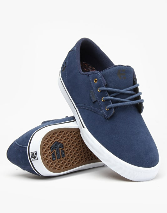 Etnies x Nick Garcia Jameson Vulc Skate Shoes - Blue
