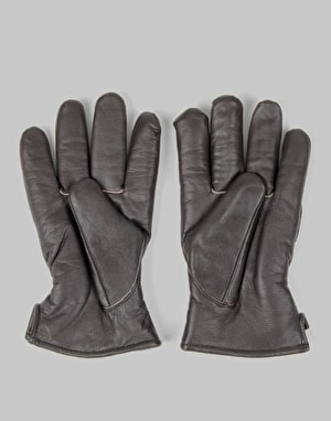 Dickies Memphis Leather Gloves - Dark Brown