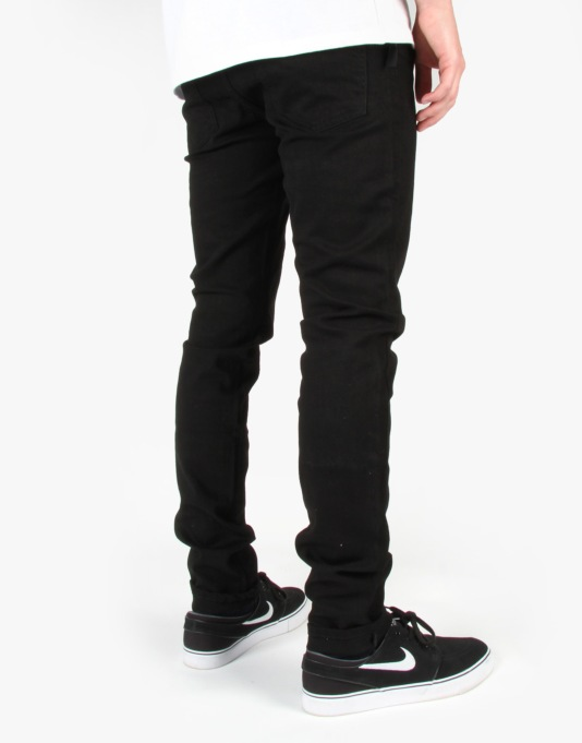 Grain Denim - Dry Black