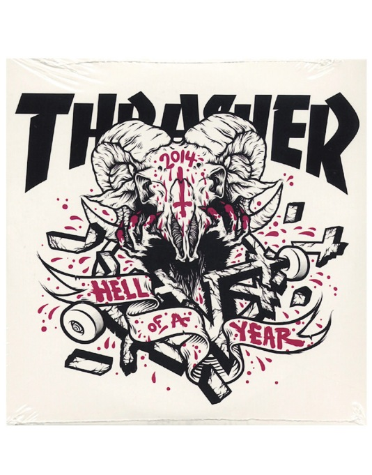 Thrasher Magazine Issue 415 February 2015 - FREE HELL OF A YEAR DVD!
