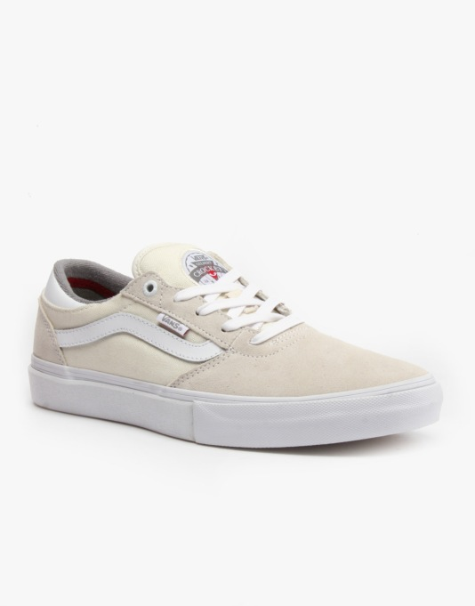 19eaa21534 Vans Gilbert Crockett Pro Skate Shoes - Whisper White