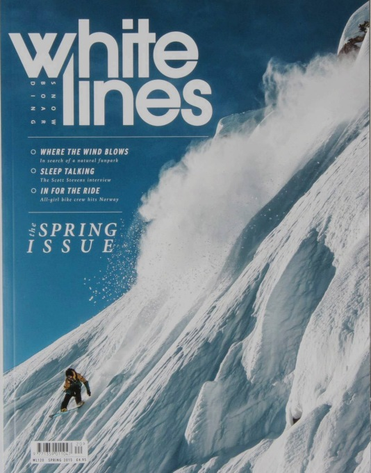 Whitelines Snowboard Magazine - Issue 120 March 2015