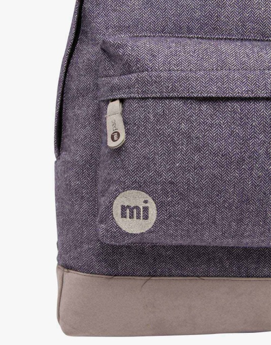 Mi-Pac Herringbone Backpack - Navy