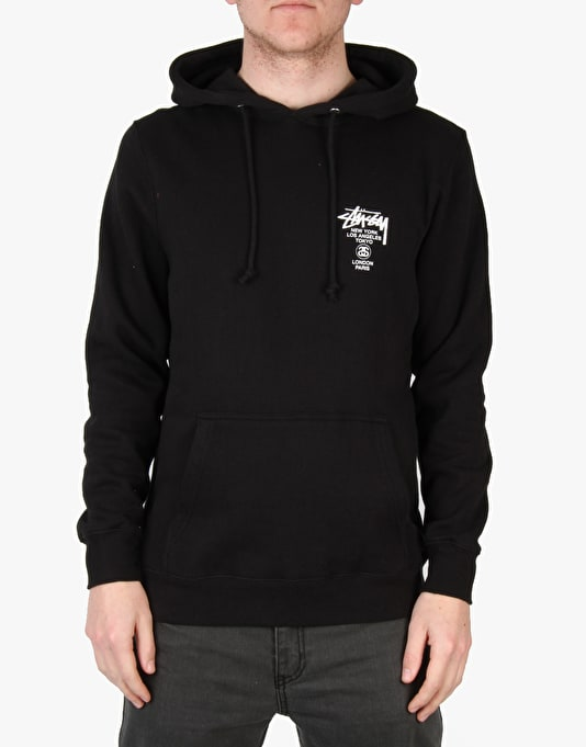 Stüssy World Tour Hoodie - Black