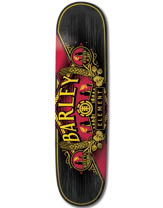 Element Barley Power Plant Featherlight Pro Deck - 8""