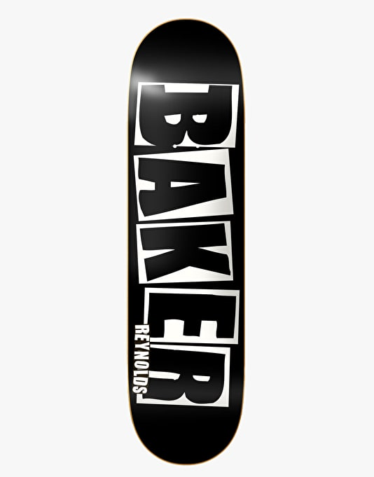 Baker Reynolds Brand Name Skateboard Deck - 8""