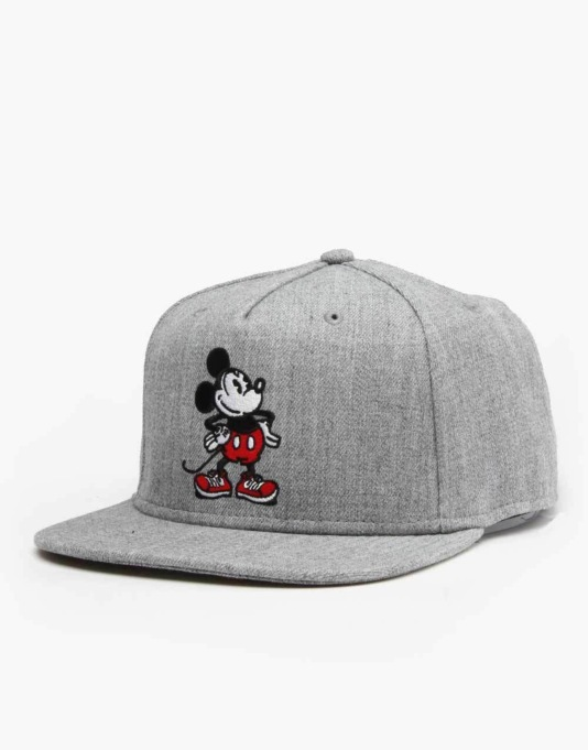 Vans x Disney Mickey Mouse Snapback Cap - Grey