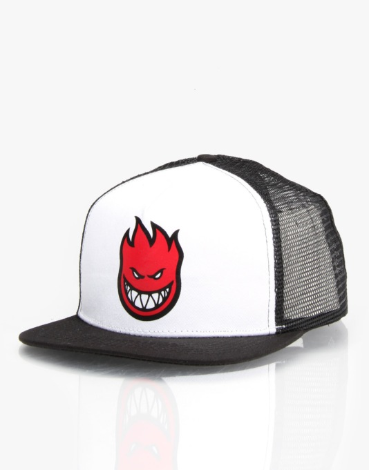 Spitfire Bighead Fill Trucker Cap - White/Black