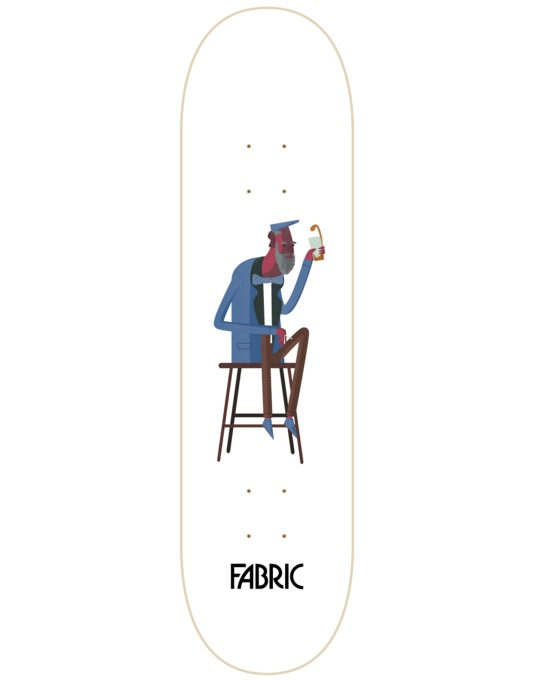 Fabric Sunday Afternoon Beers Team Deck - 8.5""