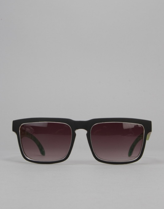 Santa Cruz Rasta Fade Sunglasses - Black