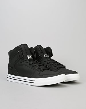 Supra Vaider Skate Shoes - Black TUF