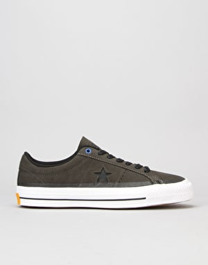 Converse One Star Pro (90's Colour) Skate Shoes - Cast Iron/BLK/WHT
