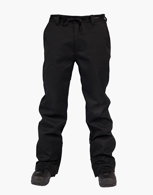 L1 Kr3w Straight Leg 2016 Snowboard Pants - Black
