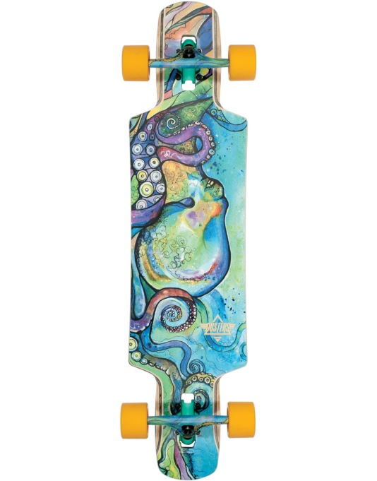 "Dusters Kraken Drop Through Longboard - 38.5"" x 9.5"""