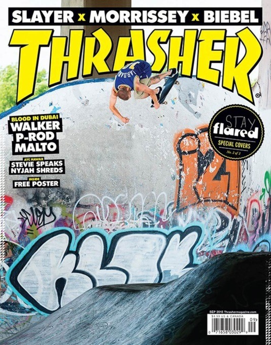 Thrasher Magazine Issue 422 September 2015 - Stay Flared Cover 2 of 2
