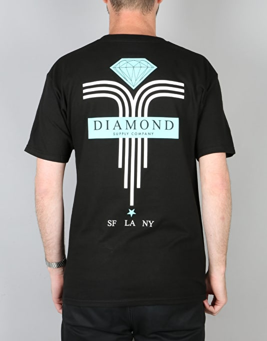 Diamond Supply Co. Mach 5 T-Shirt - Black