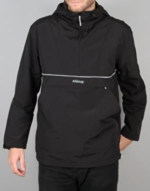Stüssy Reflective Sports Pullover Jacket - Black