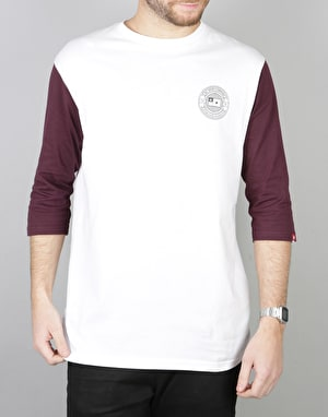 DC The 3 Quater Raglan T-Shirt - Snow White