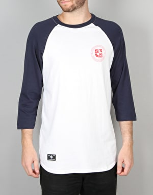 LRG Clothing and Equipment 3/4 Sleeve Raglan - Navy