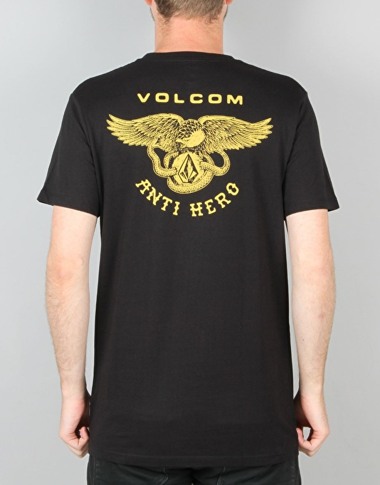 Volcom x Antihero Pocket T-Shirt - Black