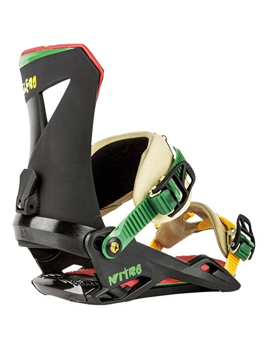 Nitro The Zero 2016 Snowboard Bindings - Irie
