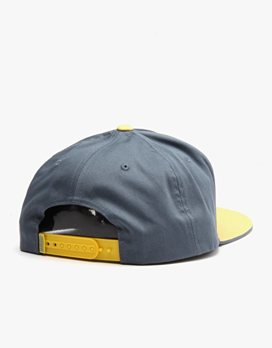 Etnies Corporate 5 Snapback Cap - Pacific Blue