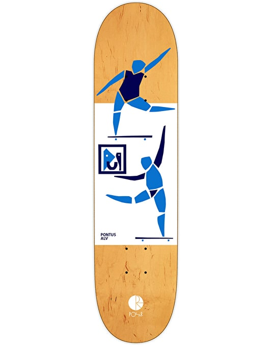 Polar Alv Two Figures One Painting Pro Deck - 8.375""