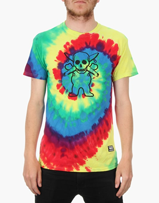 Grizzly x Fourstar T-Shirt -Tie Dye