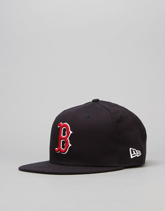 New Era 9Fifty MLB Boston Red Sox Snapback Cap - Navy/Red/White