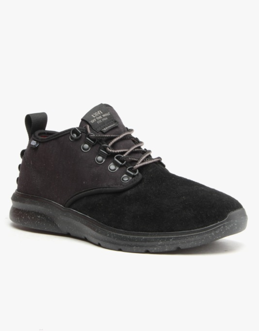 Vans Iso 2 Mid Shoes - (Outdoor) Black/Charcoal