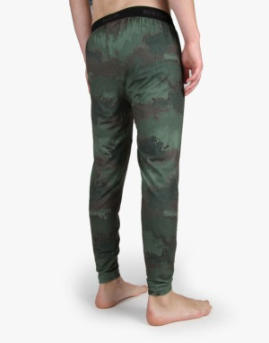 Burton Midweight 2016 Snowboard Thermal Pants - Oil Camo