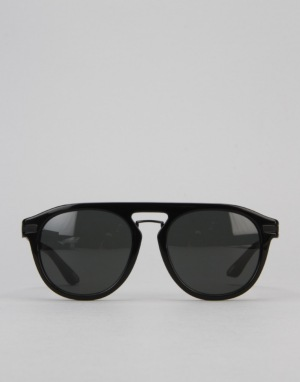 Stüssy Bruno Sunglasses - Black/Dark Grey