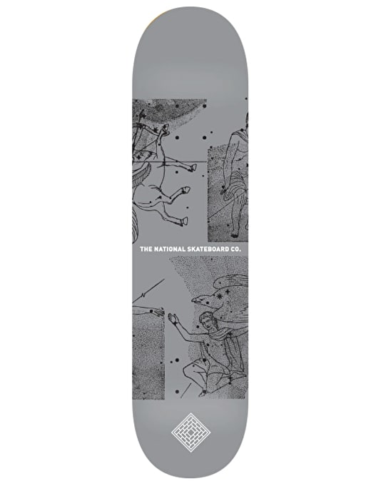 The National Skateboard Co. Universe Team Deck - 8.25""
