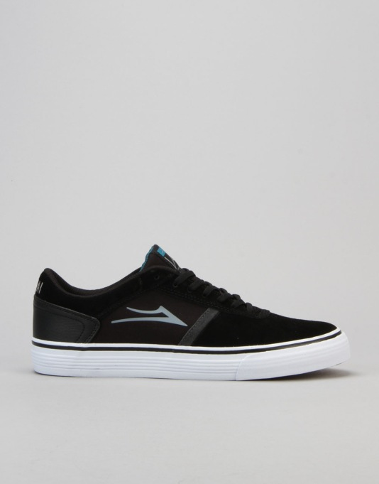 Lakai Vincent 2 Skate Shoes - Black Suede