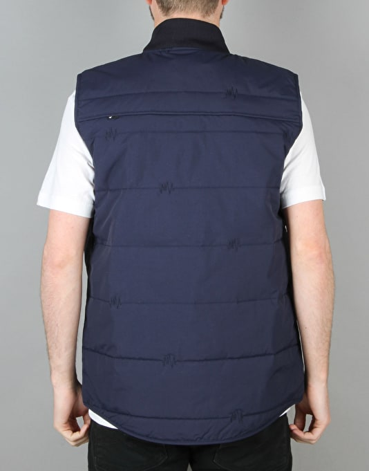 The Hundreds Pack Vest - Navy