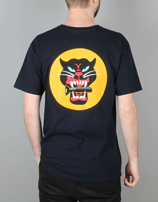 Diamond Supply Co. Black Cat T-Shirt - Navy