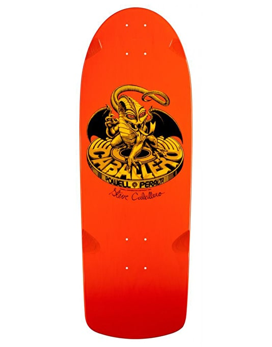 Powell Peralta Caballero BG Dragon Series #7 Reissue Pro Deck - 10""