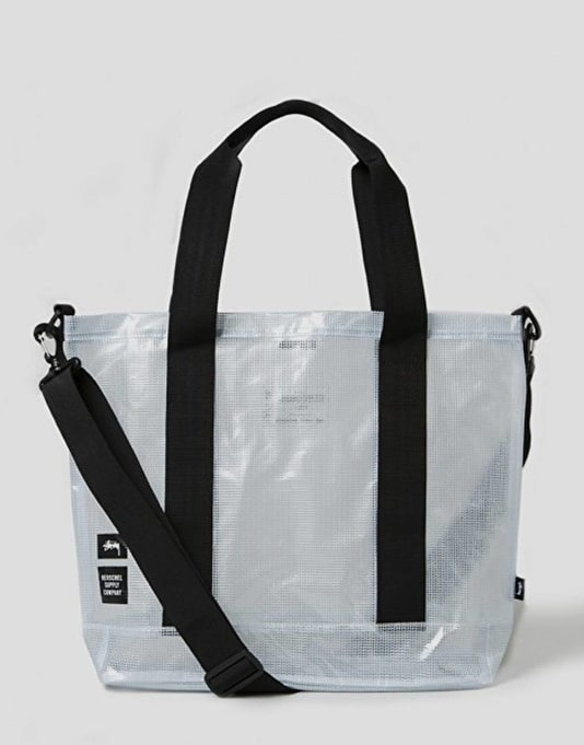 Stüssy x Herschel Supply Co. Tarpaulin Tote Bag - Clear
