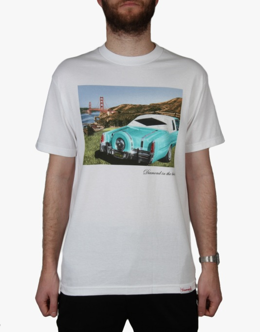 Diamond Supply Co. In The Back T-Shirt - White