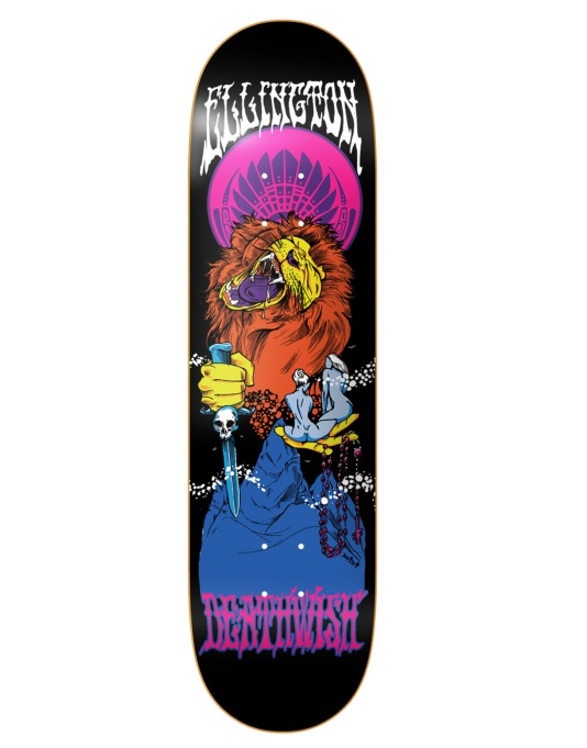 Deathwish Ellington Blacklight Pro Deck - 8.125""