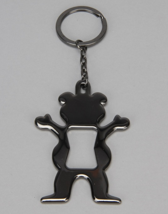 Grizzly Bear Bottle Opener - Silver